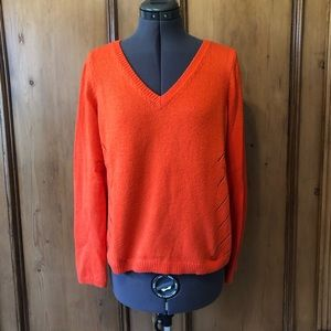 Moth size S Orange sweater